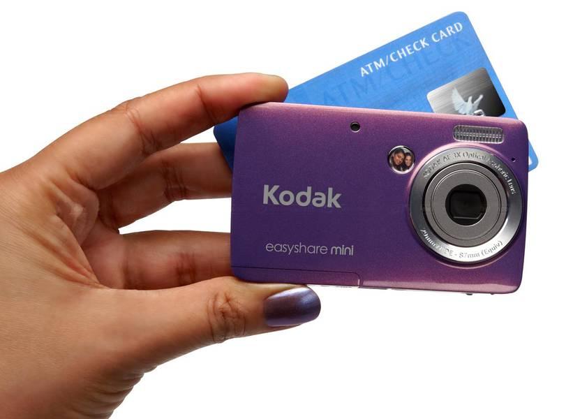 фотоаппарат размером с кредитную карту нашем салоне
